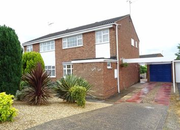 Thumbnail 3 bedroom semi-detached house for sale in Coniston Close, Earl Shilton, Leicester
