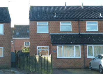 Thumbnail 2 bed semi-detached house to rent in Medlock Crescent, Spalding
