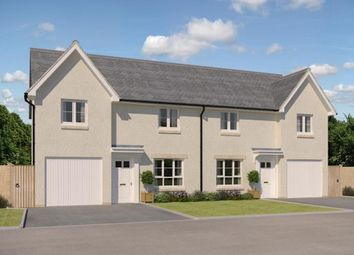 "Thumbnail 3 bedroom semi-detached house for sale in ""Ravenscraig"" at Kirkton North, Livingston"