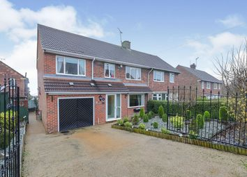 Thumbnail 4 bed semi-detached house for sale in Castleton Grove, Inkersall, Chesterfield, Derbyshire