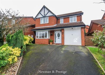 Thumbnail 4 bed detached house for sale in Lichfield Close, Arley, Coventry