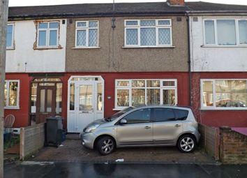 Thumbnail 3 bed terraced house for sale in Kynaston Avenue, Thornton Heath, Surrey