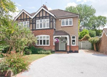 Thumbnail 3 bed semi-detached house for sale in Hillview Road, Hatch End, Middlesex