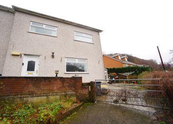 Thumbnail 3 bed end terrace house for sale in Mount Pleasant Terrace, Cross Keys, Newport