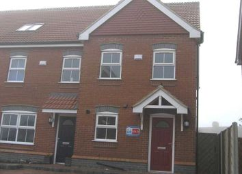 Thumbnail 3 bed town house to rent in Old School Close, Brigg
