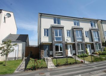 Thumbnail 4 bed end terrace house for sale in Lulworth Drive, Plymouth