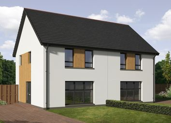 Thumbnail 3 bed semi-detached house for sale in 1 Nethergray Entry, Dykes Of Gray, Dundee