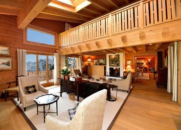 Thumbnail 4 bed chalet for sale in Route Des Ecovets, 1884 Villars-Gryon, District D'aigle, Vaud, Switzerland