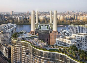 Thumbnail 2 bed flat for sale in Foster House, Battersea Power Station, London