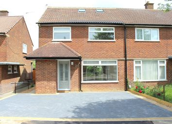 Thumbnail 4 bedroom semi-detached house to rent in Thirlmere Drive, St Albans, Hertfordshire