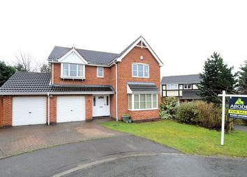 Thumbnail 5 bed detached house for sale in Grizedale Close, Burton-On-Trent