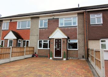 Thumbnail 3 bed terraced house for sale in Carisbrooke Close, Basildon