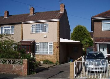 Thumbnail 3 bedroom end terrace house to rent in Brockhurst Road, Bristol
