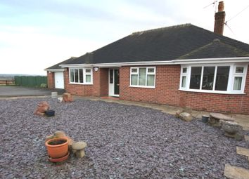 Thumbnail 3 bed detached bungalow for sale in Holly Lane, Harriseahead, Stoke-On-Trent