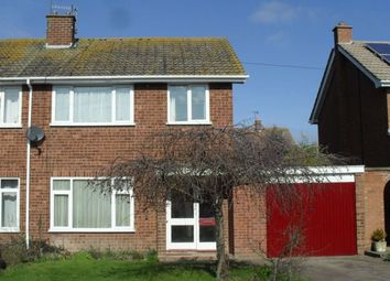 Thumbnail 3 bed semi-detached house for sale in Tuer Way, Inkberrow, Worcester