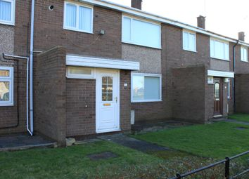 Thumbnail 3 bed terraced house for sale in Dene View, Ellington, Morpeth