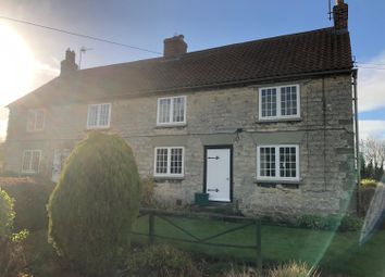 Thumbnail 2 bed semi-detached house to rent in Back Lane, Settrington, Malton