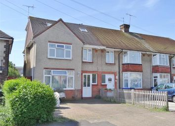 Thumbnail 4 bed end terrace house for sale in Congreve Road, Broadwater, Worthing