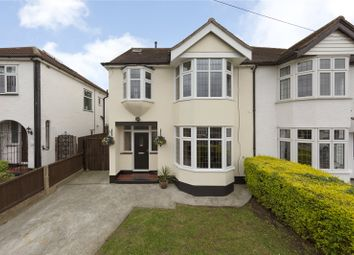 Thumbnail 4 bed semi-detached house for sale in Grey Towers Avenue, Hornchurch