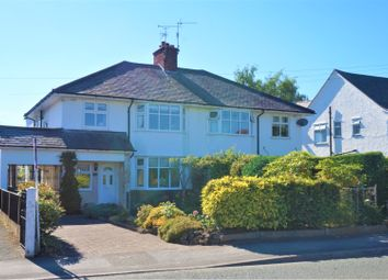 Thumbnail 4 bed semi-detached house for sale in Chester Road, Wrexham