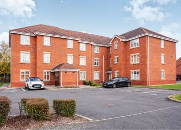 Thumbnail 2 bed flat for sale in Brush Drive, Loughborough