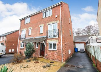 Thumbnail 4 bedroom town house for sale in David Way, Hamworthy, Poole