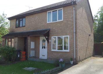 Thumbnail 2 bed semi-detached house to rent in Lineacre Close, Grange Park, Swindon