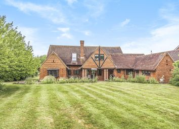 The Street, Bramley, Tadley, Hampshire RG26. 5 bed detached house