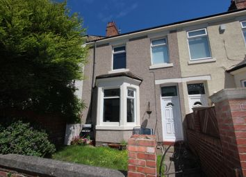 Thumbnail 3 bed terraced house to rent in Burnfoot Terrace, Whitley Bay