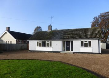 Thumbnail 4 bed detached bungalow to rent in Bury Road, Thetford