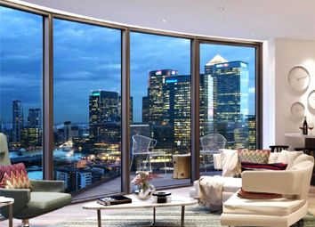 Thumbnail 2 bed flat for sale in Providence Tower, Canary Wharf
