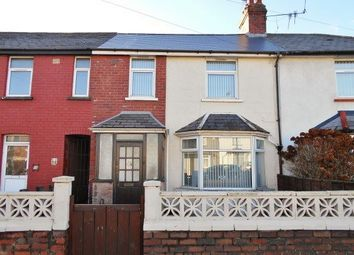 Thumbnail 3 bed terraced house for sale in Clydesmuir Road, Tremorfa, Cardiff