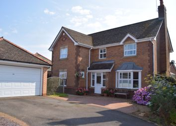Thumbnail 4 bed detached house for sale in Bramble Close, Uppingham, Oakham