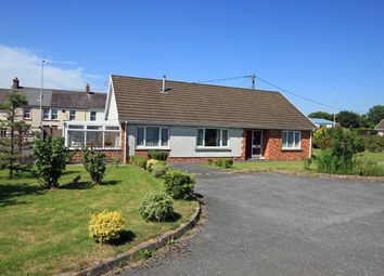 Thumbnail 3 bed detached bungalow for sale in Wembley Gardens, St. Clears, Carmarthenshire