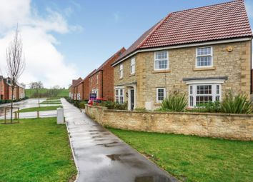 Thumbnail 4 bed detached house for sale in Saxton Avenue, Strelley