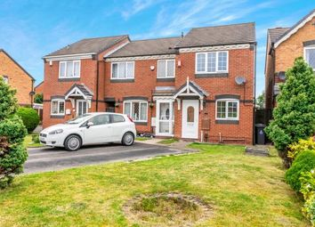 Thumbnail 2 bed end terrace house for sale in Conwy Close, Walsall, West Midlands