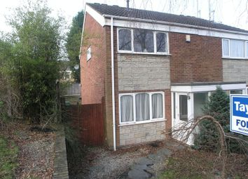 Thumbnail 3 bed semi-detached house for sale in Mansell Close, Halesowen