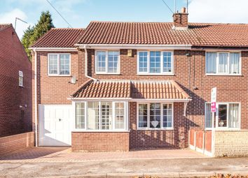 Thumbnail 4 bed semi-detached house for sale in Landsdown Avenue, South Kirkby, Pontefract