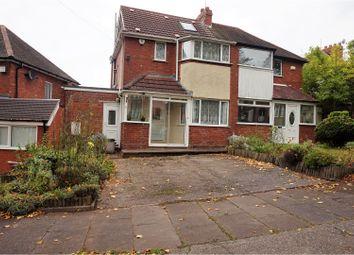 Thumbnail 3 bed semi-detached house for sale in Falconhurst Road, Birmingham