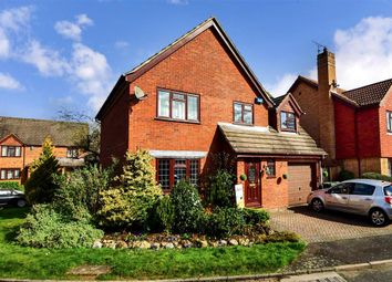 Thumbnail 4 bed detached house for sale in Southey Way, Larkfield, Aylesford, Kent