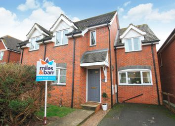 3 bed semi-detached house for sale in Emelina Way, Seasalter, Whitstable CT5