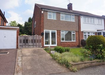 Thumbnail 3 bed semi-detached house for sale in Farmway, Leicester