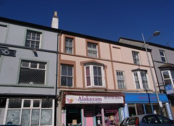 Thumbnail 3 bed flat to rent in Water Street, Rhyl