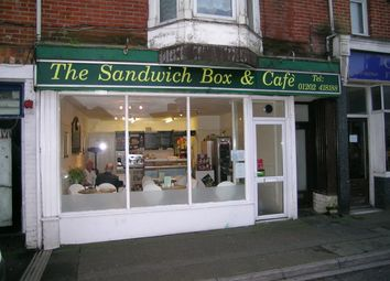 Thumbnail Restaurant/cafe to let in The Sandwich Box & Cafe, Bournemouth