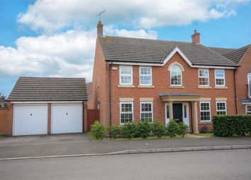 Thumbnail 4 bed detached house for sale in Bancroft Way, Wootton Fields, Northampton