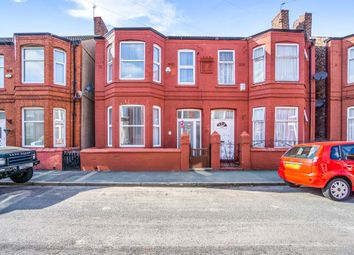 Thumbnail 3 bedroom semi-detached house for sale in Chatsworth Avenue, Wallasey