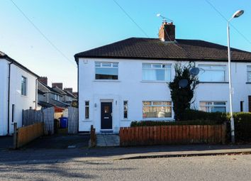 Thumbnail 3 bedroom semi-detached house for sale in Summerhill Avenue, Stormont, Belfast