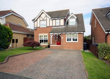 Thumbnail 4 bedroom detached house for sale in Meadow Drive, Chester Le Street, Chester Le Street