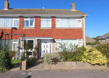 Thumbnail 3 bed semi-detached house to rent in Poplar Close, Highcliffe, Christchurch