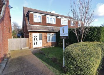 Thumbnail 3 bed semi-detached house for sale in Sengana Close, Botley, Southampton, Hampshire